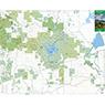 Los Vaqueros and Surrounding Parks - Mount Diablo Regional Trail Map