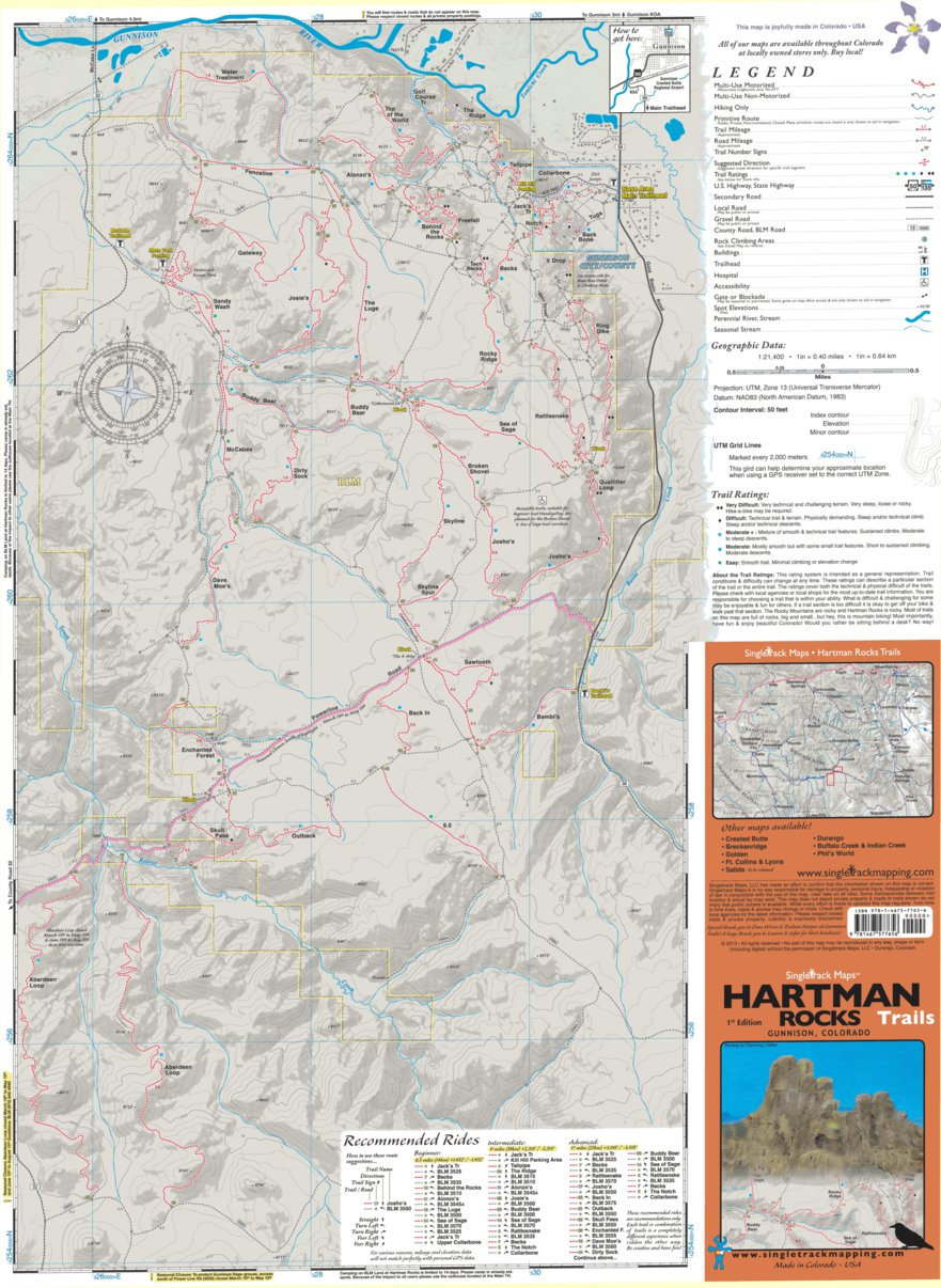 Hartman Rocks Trails Map Singletrack Maps Avenza Maps - Us trails map