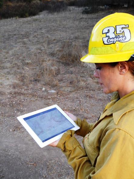 USFS Fire Response iPad