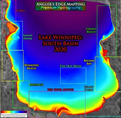 Angler's Edge Map