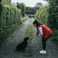 Training dogs using Avenza Maps