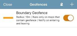 Geofences