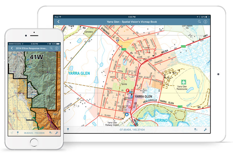 Avenza Maps on iPhone and iPad