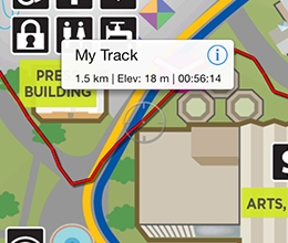 Record GPS Tracks