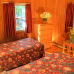 Lodging 4 Bed Cabin Twin Bedroom