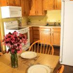 Lodging Cabin 2 Bedroom Kitchen
