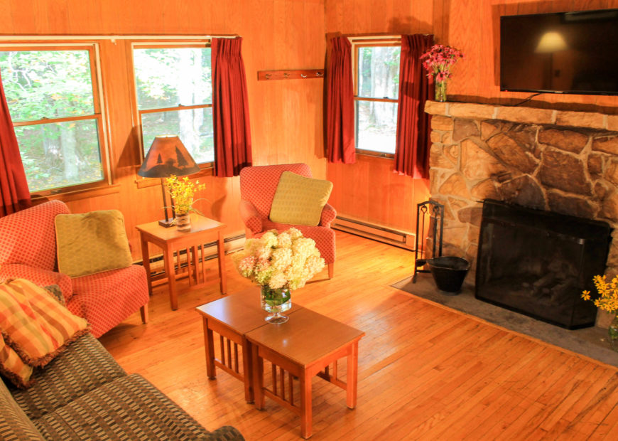 Lodging Cabin 2 Bedroom Living Room 2