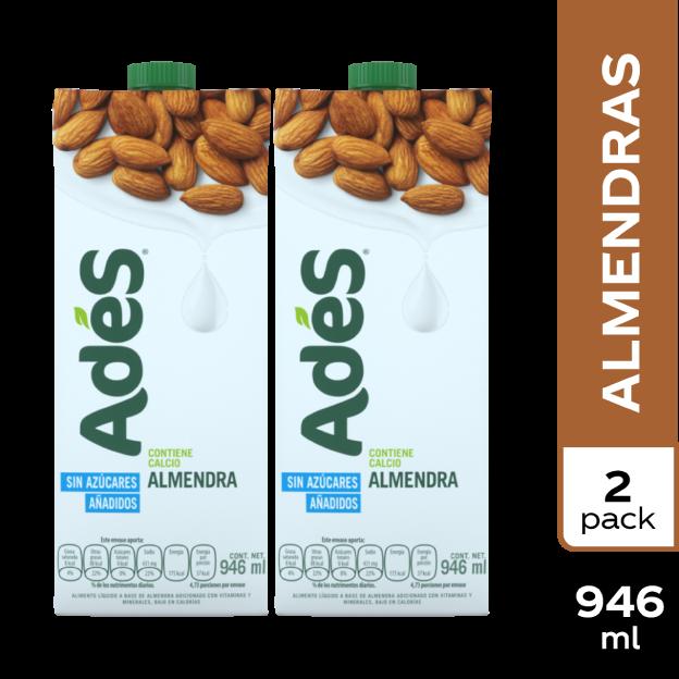AdeS Almendra 946 ml 2 pack