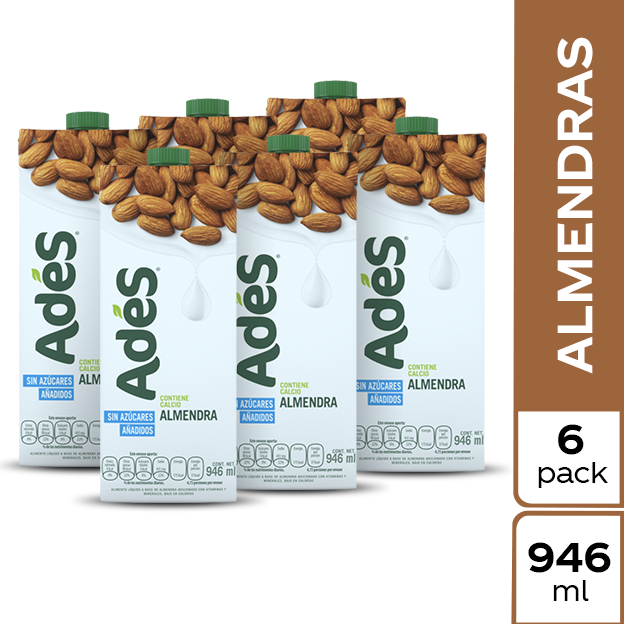 AdeS Almendra 946 ml 6 pack