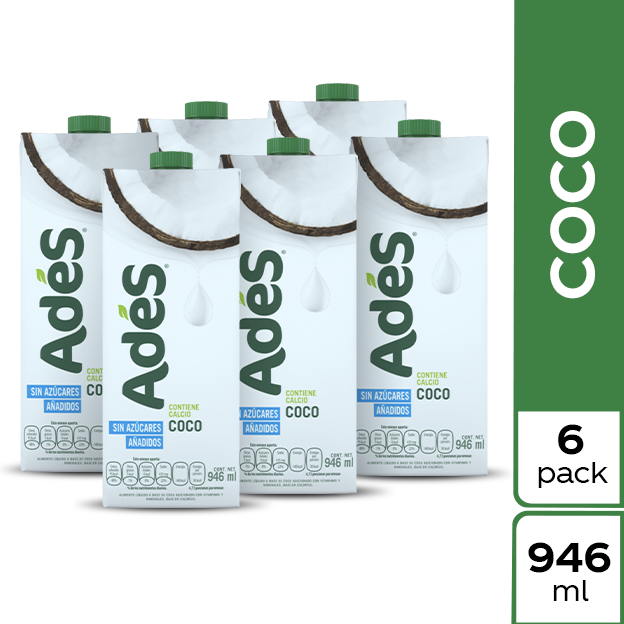 AdeS Coco 946 ml 6 pack