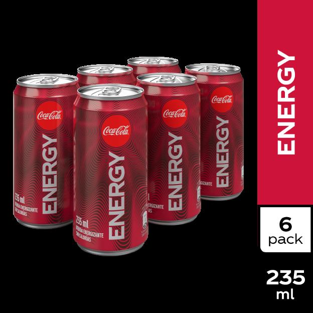 Coca-Cola Energy  235 ml Mini Lata 6 pack