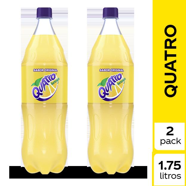 Gaseosa Quatro  1.75 L 2 pack