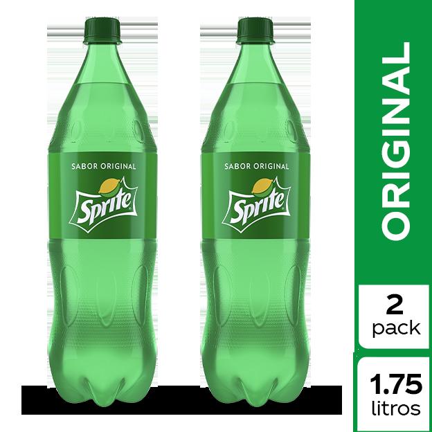 Gaseosa Sprite  1.75 L 2 pack