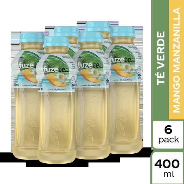 Fuze Tea Verde Mango 400 ml 6 pack
