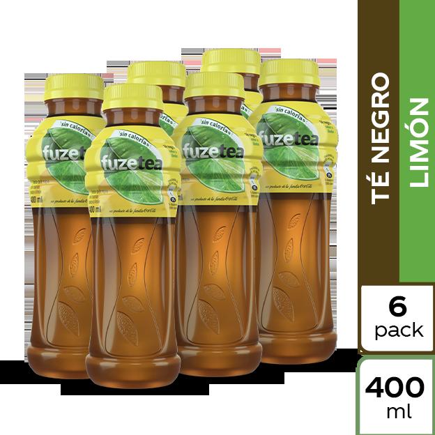 Fuze Tea Negro Limon 400 ml 6 pack