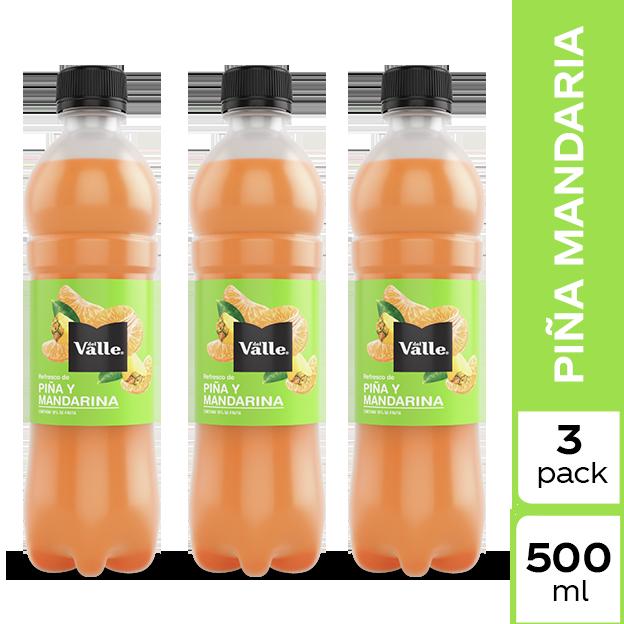 Jugo Del Valle Mandarina y Piña 500 ml 3 pack