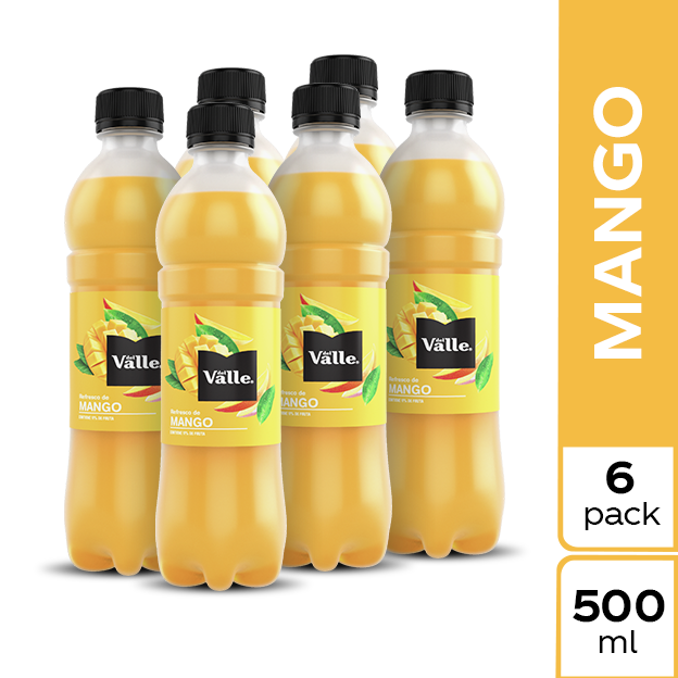 Jugo Del Valle Mango 500 ml 6 pack