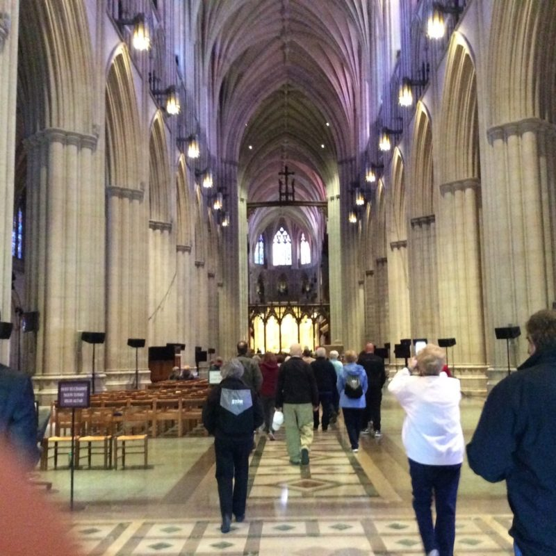 Inside the Washington National Cathedral