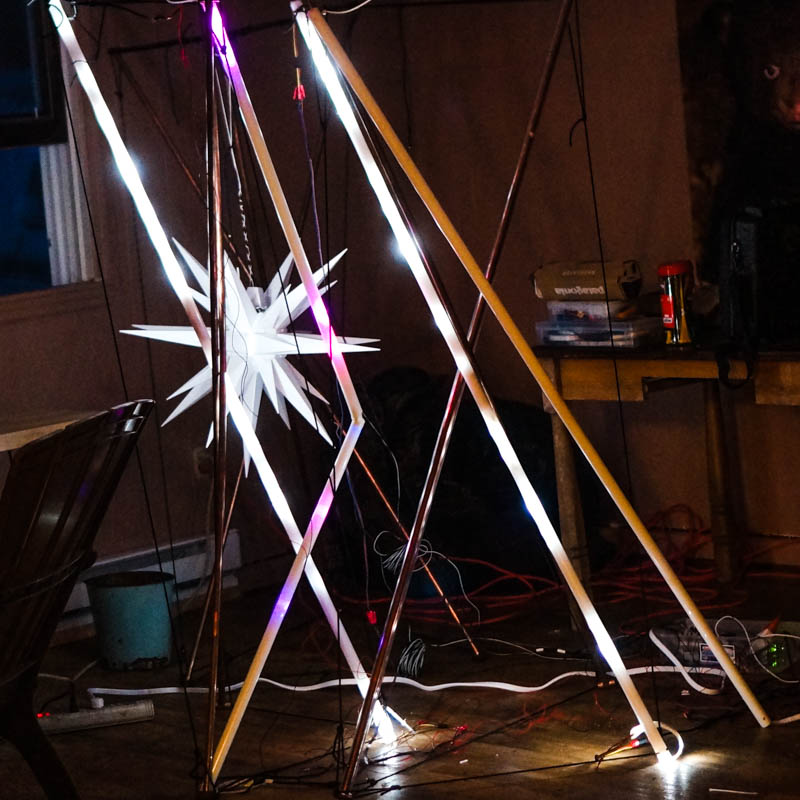 Tensegrity Scaled Up