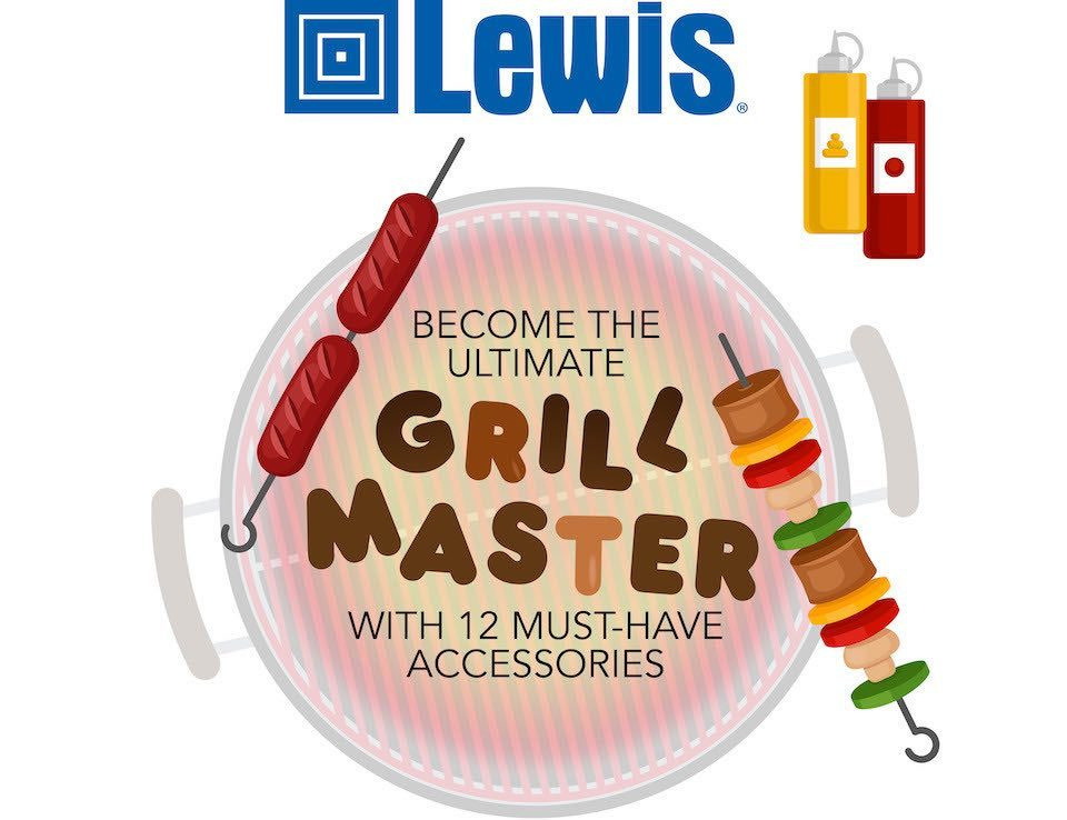 Lewis Logo and Grill