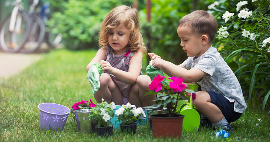 Owning Your Outdoors - Gardening With Kids! | Lewis