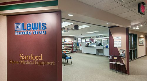 Lewis Family Drug Clinic Pharmacy At Sanford Grange Avenue Lewis