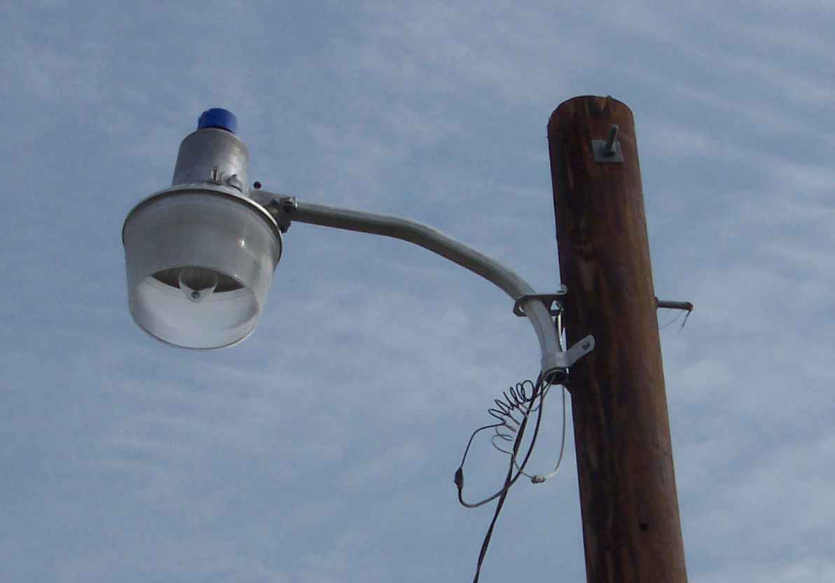 Contact Nishnabotna Valley REC about repairing or replacing a yard light.