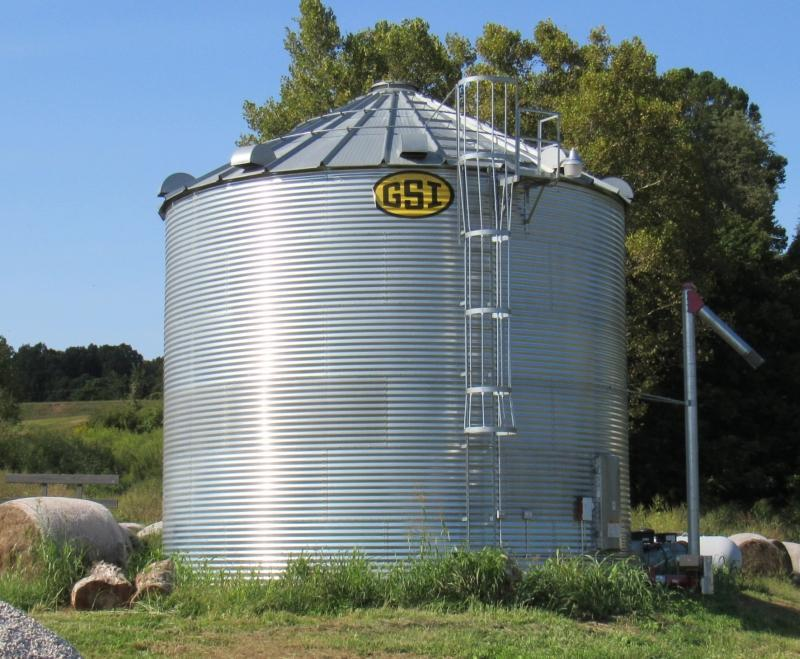 Disconnect Grain Bin