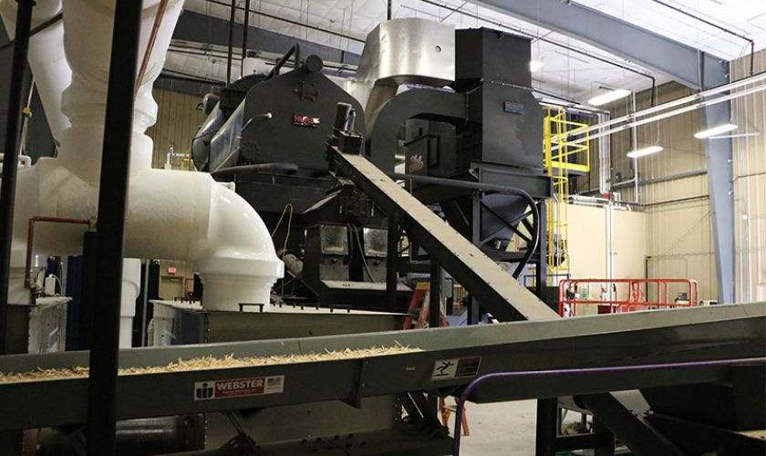 Hurst Biomass Boiler Plant