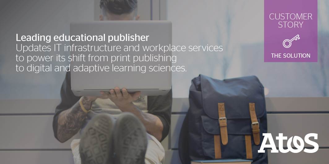 How to modernize a textbook printing infrastructure to become a leader in digital learning....