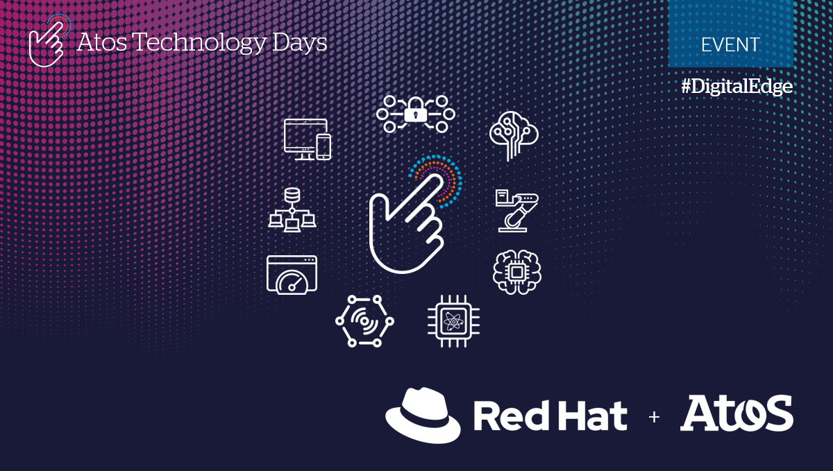 Atos welcomes Red Hat at Atos Technology Days to showcase #cloud deployment of Smart...