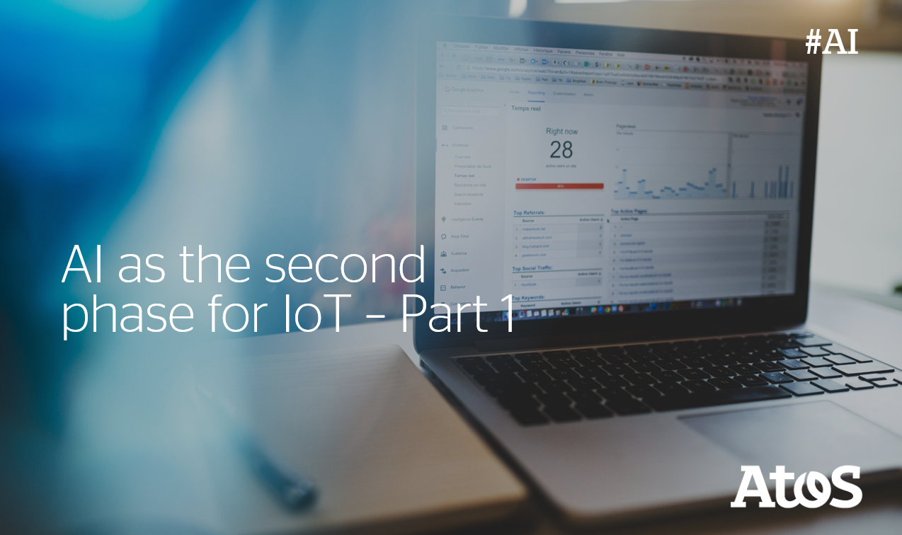 What about bringing the potential of #AI directly to #IoT devices? Jose Gato, Head...