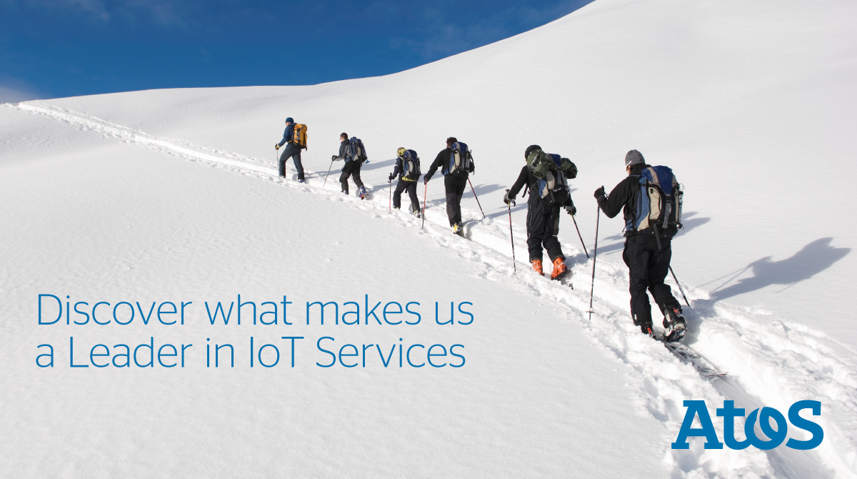 We have been named a Leader in Global IoT Services by global analyst firm...