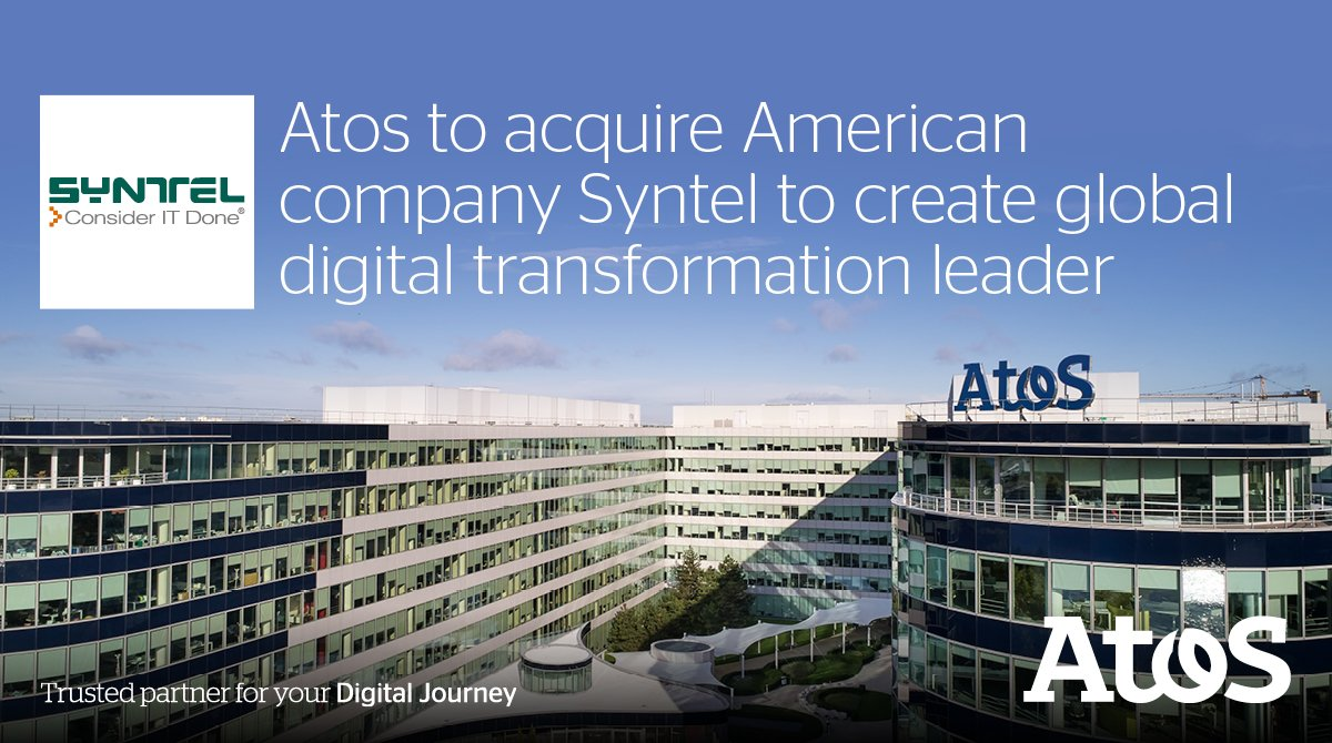 Atos is to acquire @SYNTEL, a leading digital company....
