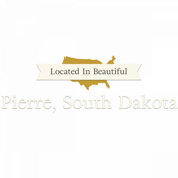 Located in Beautiful Pierre SD
