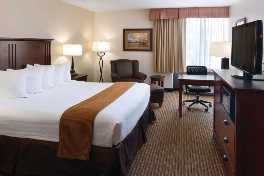 King Room at the Ramkota in Casper, WY