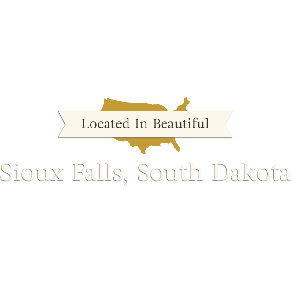 Located in Beautiful Sioux Falls