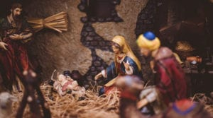 Birth of Jesus joseph-and-Mary-looking-at-baby-Jesus-in-the-nativity-what-Christmas-means-to-me