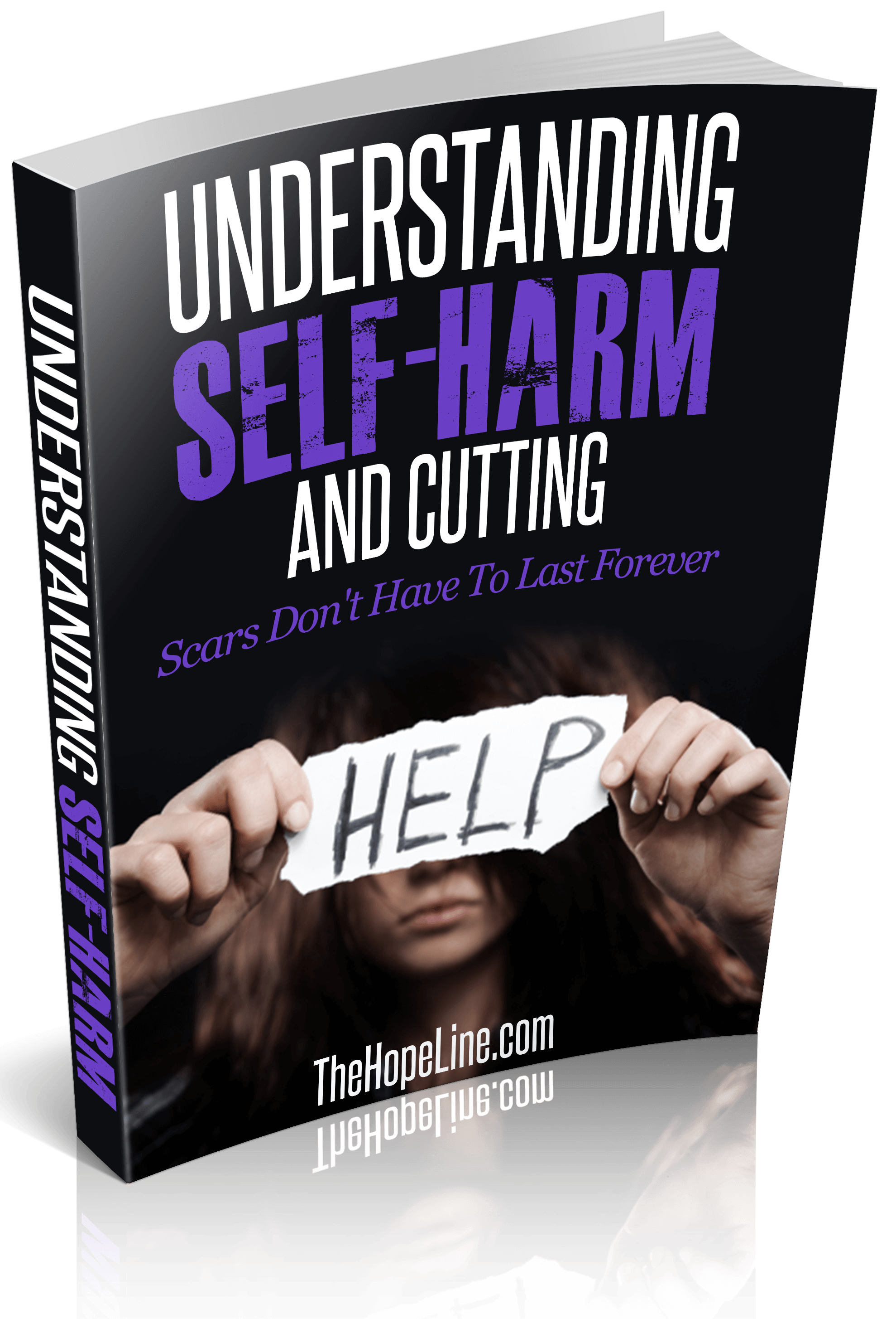Understand the types, risks and signs of self-harm and cutting in this eBook