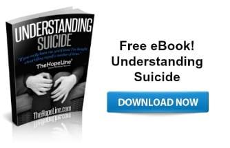 Free eBook from TheHopeLine Understanding Suicide