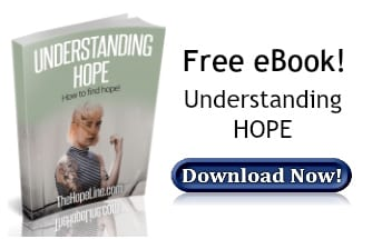 Free eBook from TheHopeLine Understanding Hope