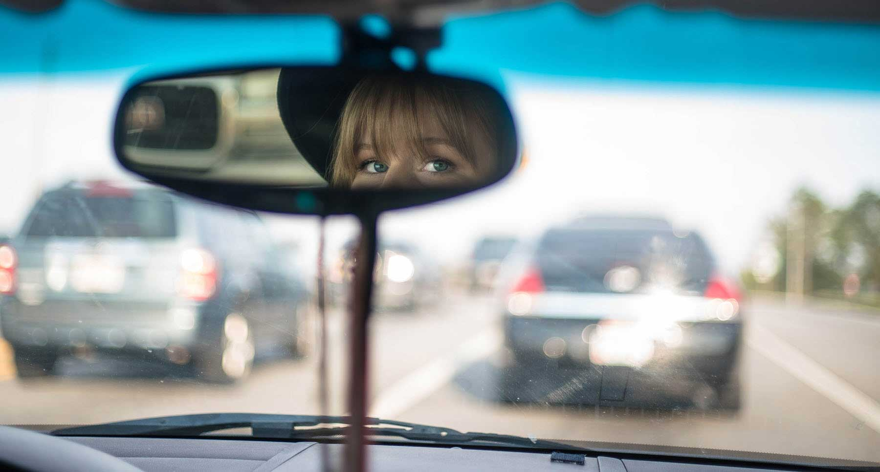 girl having an anxiety attack while driving scripture helps me overcome anxiety