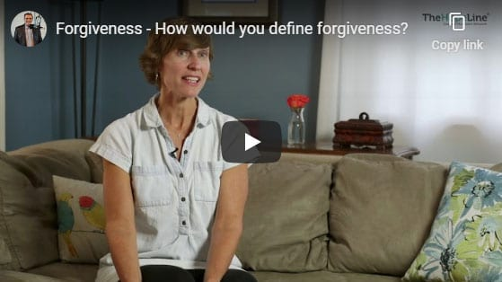 Forgiveness – How would you define forgiveness?
