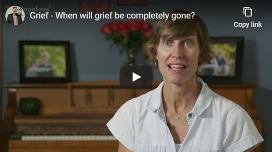 Grief – When will grief be completely gone?