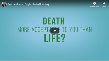 PraiseUmentary – Rescue – Lauren Daigle