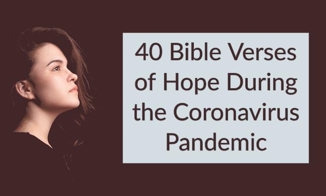 TheHopeLine Coronavirus Bible Verses - Get Peace & Hope from God