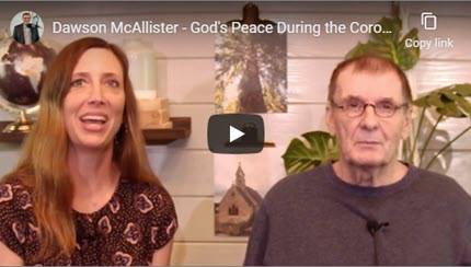 Dawson McAllister – God's Peace During the Coronavirus Crisis