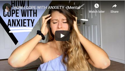 Mental Health: How I Cope with Anxiety