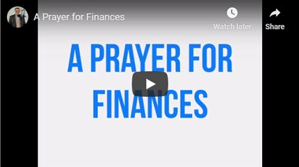A Prayer When Struggling with Finances