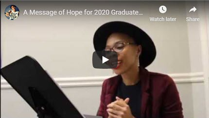 A Message of Hope for 2020 Graduates